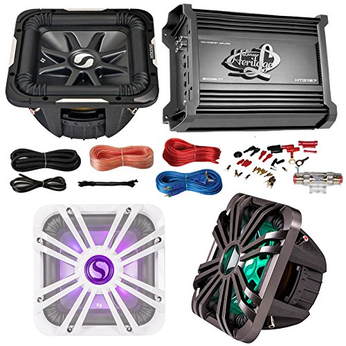 Kicker Car Subwoofer and Amp Combo 11S12L74 12