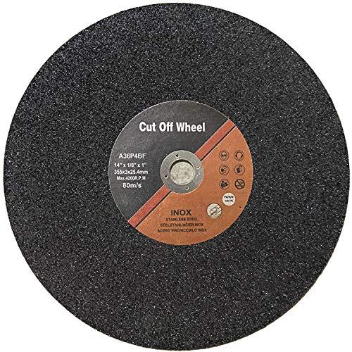 14-Inch Cut-Off Wheel,10-Pack,14 Inch Abrasive Cut Off Blades Metal Cutting,Chop Saw Blades 14 Inch