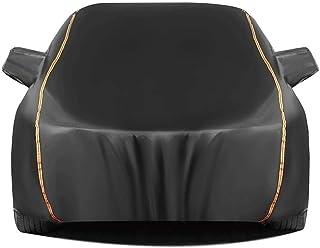 JYRD Autoplane Autoabdeckung kompatibel mit Lexus is/is F Autoplane Autogarage Wasserdicht Staubdicht Schneeschutz Sonnenschutz Vollgarage Ganzgarage Abdeckplane Plane (Color : Black, Size : LS 250)
