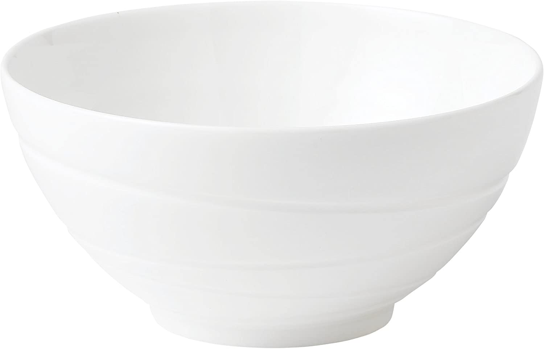 Houston Mall Jasper Conran by Wedgwood White Bone China Swirl Bowl Gift 5.5