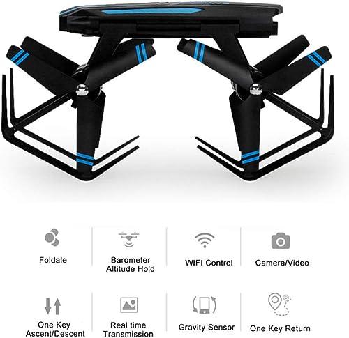 Mengen88 Smart Remote Control Aircraft, Quadcopter 3D Flip Toy mit Luftdruck Fixed Height und High-Definition-Luftbildfern-Real-Time-Bildübertragung