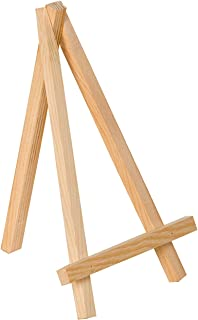 Artemio Easel Stand, Wood, Natural, 9 x 1.6 x 16.2 cm