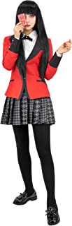 Kakegurui Jabami Yumeko Cosplay Costume Girls Japanese School Uniform