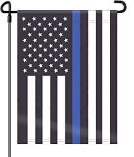 police garden flag