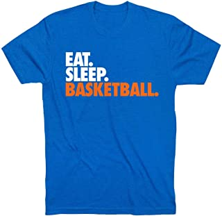 Eat. Sleep. Basketball. Youth T-Shirt | Basketball Tees by ChalkTalk Sports | Multiple Colors | Youth Sizes