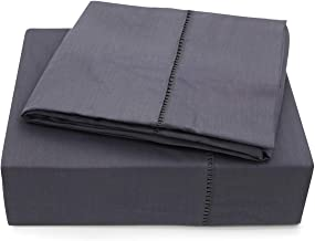 """MARQUESS Bed Sheet Set 4 Pieces Bamboo Cotton Luxury and Soft Bedding Fade and Stain Resistant with 16"""" Deep PocketMattress Upto 16"""