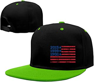 FIFA 2015 Women's World Cup Champions American Flag Snapback Hip-hop Baseball Cap RoyalBlue