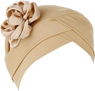 Women Muslim Stretch Turban Hat Chemo Cap Hair Loss Head Scarf Wrap Hijib Cap Baseball Hats Under $5