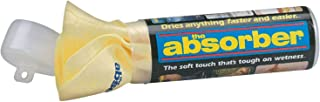 """CleanTools The Absorber Synthetic Drying Chamois, 27"""" x 17"""", Natural, Single"""