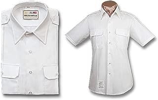 Male Army ASU White Short Sleeve Shirt