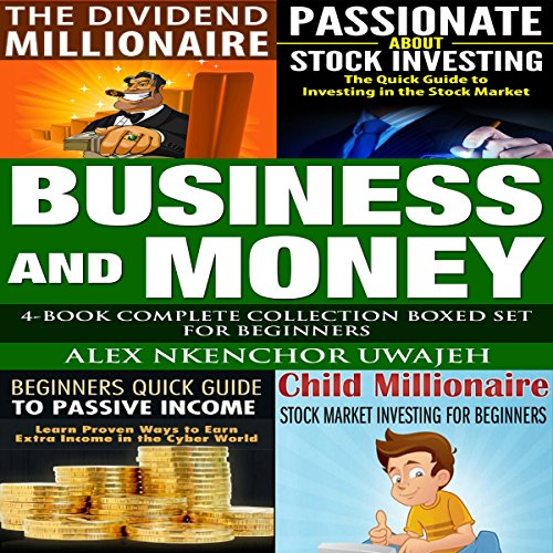 Business and Money: 4-Book Complete Collection Boxed Set for Beginners audiobook cover art