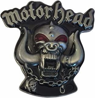 Motorhead Rock Band Logo Metal Enamel Belt Buckle
