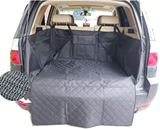 Sunshines Union Dog Seat Cover Car Seat Cover for Pets Protection Hammock Cover Waterproof Scratch Proof Nonslip Backing Durable Backseat Dog Cover with Side Flaps for Car SUV Truck