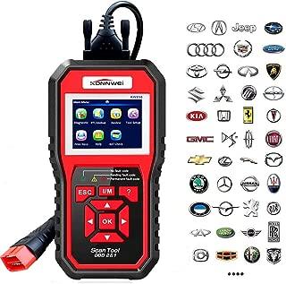 KONNWEI OBD2 Scanner Code Reader Professional OBDII Anto Scanner Car Diagnostic Check Engine Light Tool for All OBD II Protocol Cars After 1996 (Enhanced KW850)