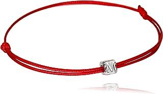 اليدوية حرف أحمر أسود سلسلة خلخال | أساور للنساء في سن المراهقة بنات قابل للتعديل سوار الصداقة مجوهرات الحد الأدنى