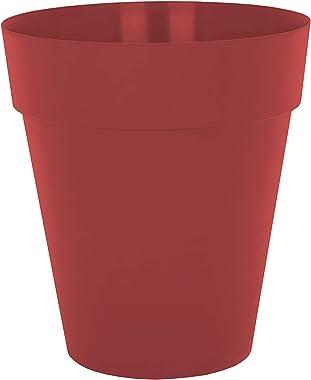 Capri High Pot 56 cm Dark Red