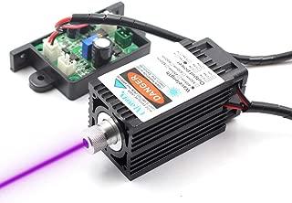 Oxlasers 405nm 500mW UV Laser Module 12V DIY Blue Violet Laser Head for Engraving CNC TTL Purple Laser for 3D Printers