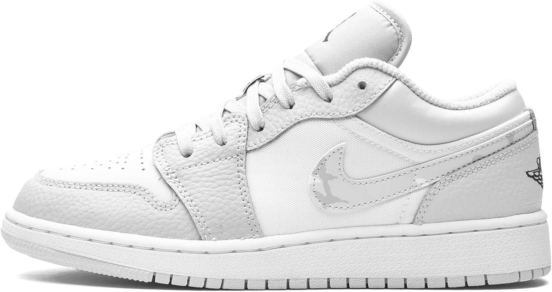 Jordan Air 1 Low Se Gs White/Photon Dust-Grey Youth Dd3234 100 - Size