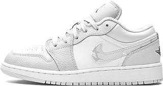Nike Juniors Air Jordan 1 Bajo SE GS - DD3234100 - Blanco Camo