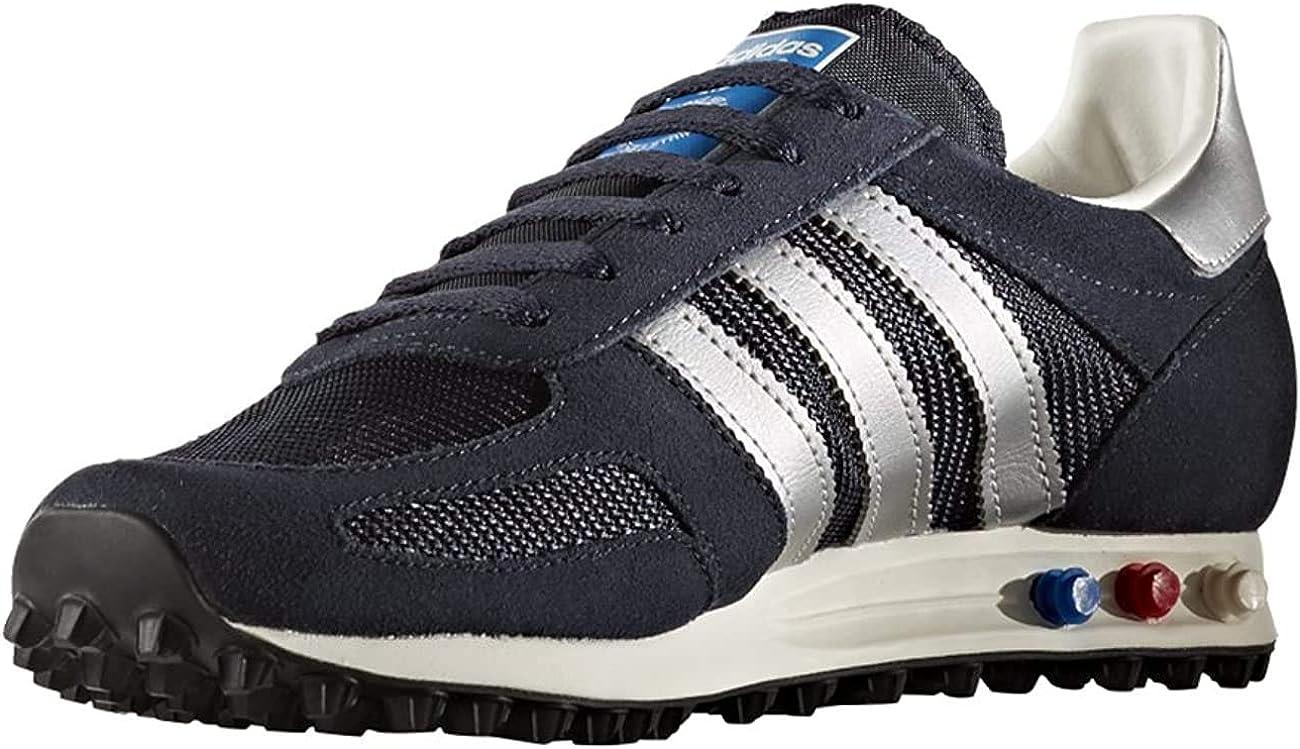 popular Antibióticos exterior  Adidas Originals LA Trainer OG Hombres (UK 4 US 4.5 EU 36 2/3,  Legink/msilver/Navy BB1208): Amazon.es: Zapatos y complementos