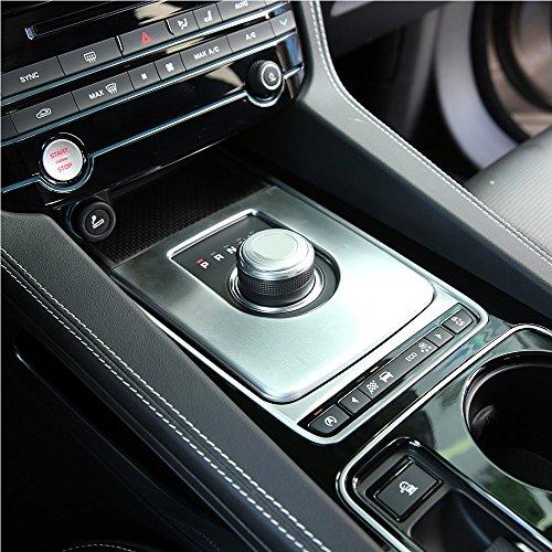 Auto-Innenausstattung, ABS-Chrom-Getriebeabdeckung, Verkleidung für Jag XE F-Pace 2016, Autozubehör