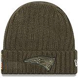New England Patriots New Era 2017 NFL Sideline 'Salute to Service' Knit Hat Hut