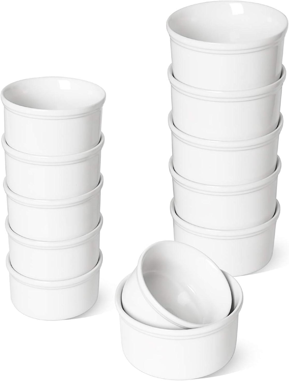 Mesa Mall LE TAUCI 12 Pack Ramekins Free Shipping Cheap Bargain Gift Oz x Bakeware 6 Pcs