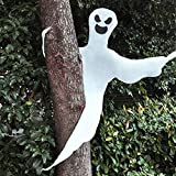 "JOYIN 53"" Halloween Bendable Tree Wrap Ghost for Halloween Decorations and Ghost Party Supplies"