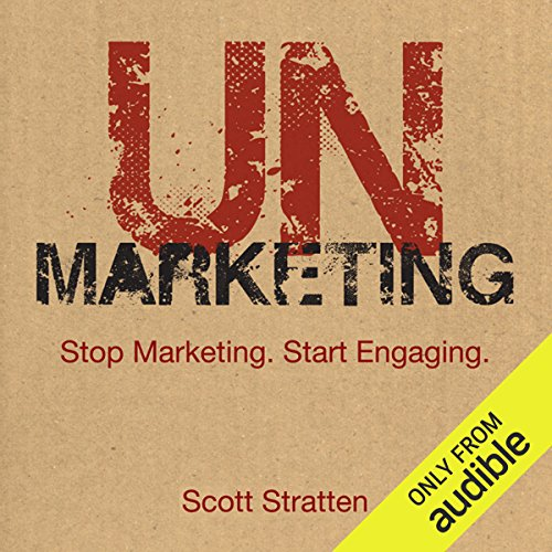Unmarketing audiobook cover art