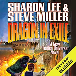 Dragon in Exile audiobook cover art
