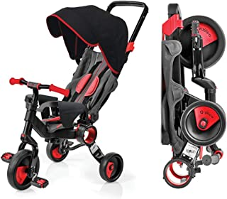 Galileo Premium Strollcycle with Deluxe Canopy--Red