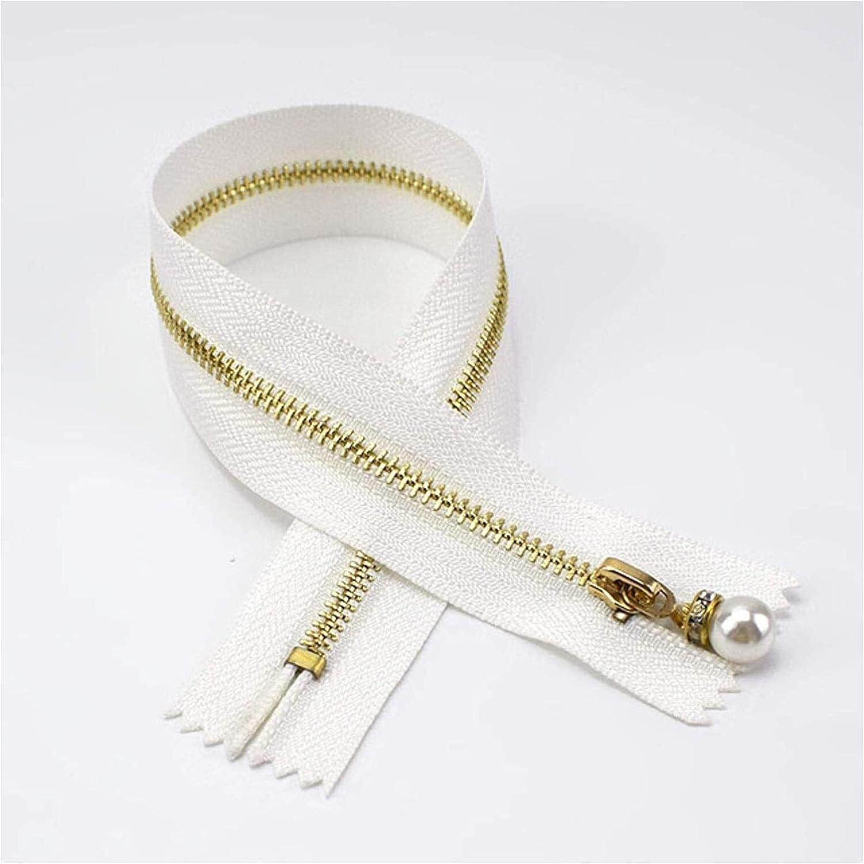 Lieber Lighting Decorative Zipper Metal Closed End Zippers Gold