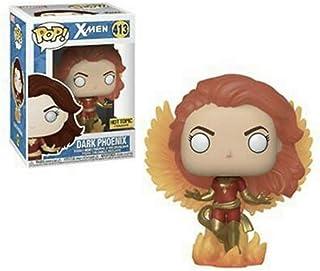 Funko FU34250 POP! Marvel: Xman #413 Dark Phoenix with Flames Play Figure