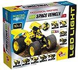 Lisciani Giochi- Gioco Scienza Hi Tech Costruzioni Mini con LED Veicolo Spaziale, 65868.0