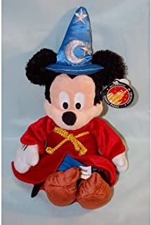 Disney Sorcerer Mickey Mouse Plush Toy - 9""