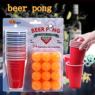 Wenasi Kids Entertainment Fun Party Drinking Game Party Board Game Beer Pong Balls Cups Kit
