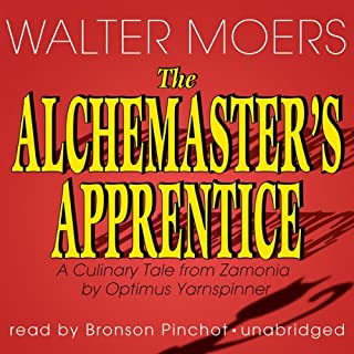 The Alchemaster's Apprentice audiobook cover art