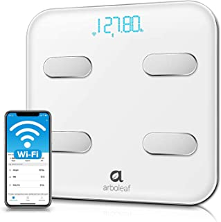 Arboleaf Smart Scales for Body Weight, Wi-Fi Bluetooth Bathroom Scales, Scales Digital Weight and Body Fat, 14 Body Metric...