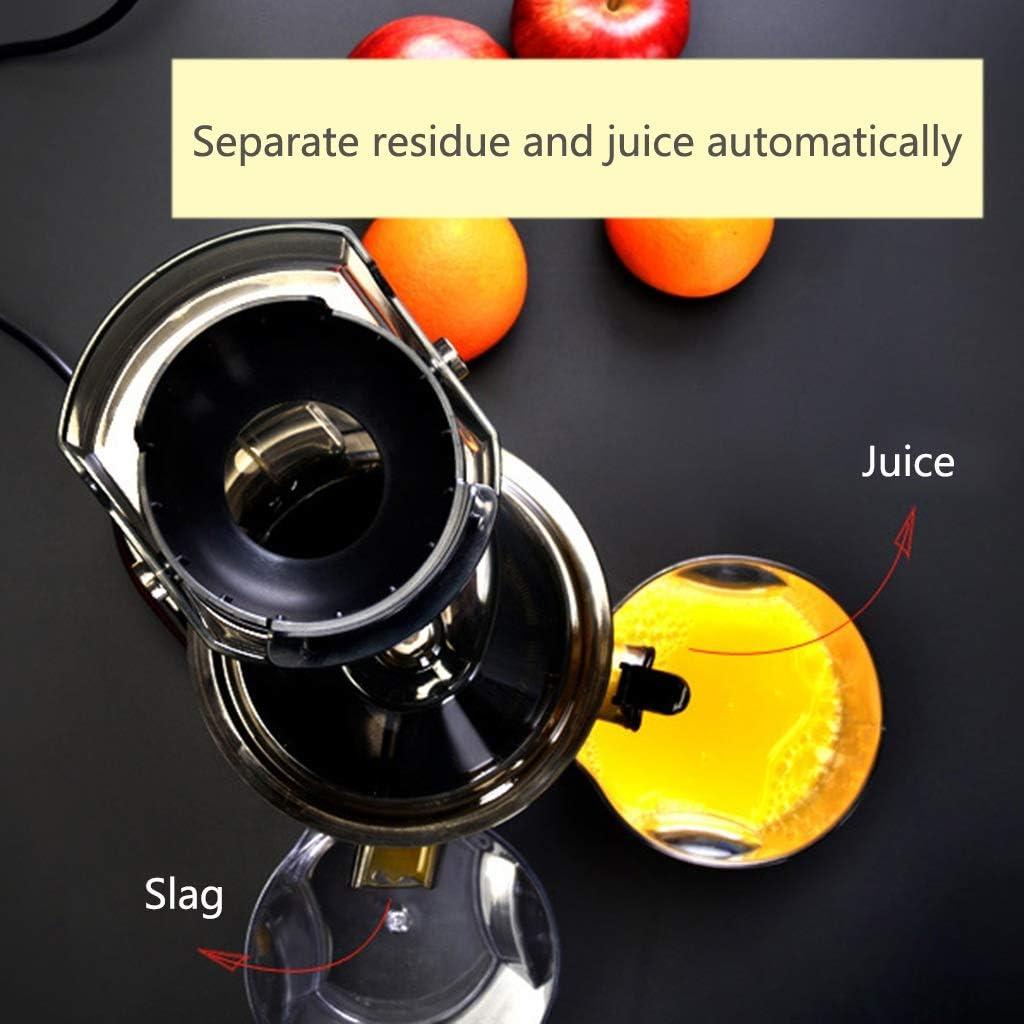 Extracteur de Jus, Slow Juicer Presse à Froid de Fruits et Légumes avec 82 MM de Large Bouche, Moteur Silencieux sans BPA Presse-Agrumes électriques (Color : A) C