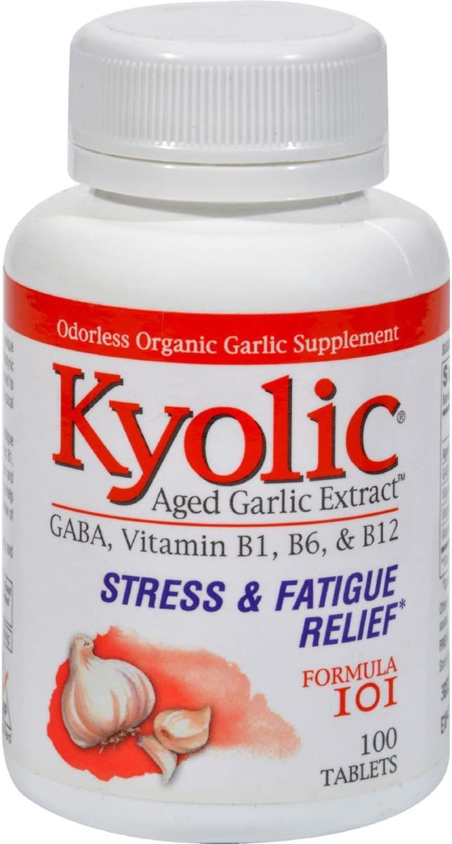 Kyolic Garlic Formula 101 Energy 100 With Factory outlet Yeast Free shipping on posting reviews Brewers