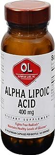 Alpha Lipoic Acid 400 Milligrams 60 Veg Capsules
