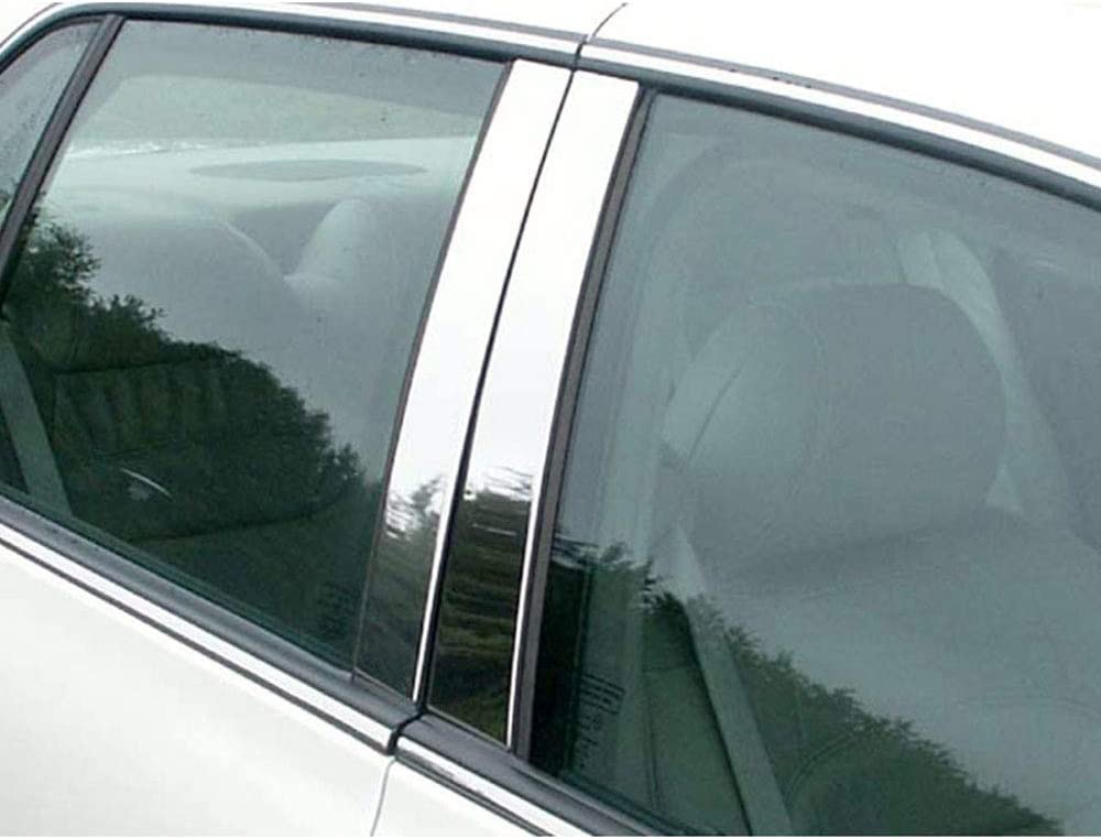 Brighter Design 4pc. Chrome Pillar Post Trim Challenge the lowest price of Japan ☆ Cadillac Popularity for DT fit