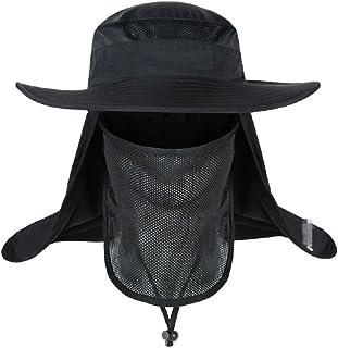 ICSTH - Sombrero de Malla para el Aire última intervensión, capuchón para el Sol, protección para el Sol, Capucha, Cuello y Cara