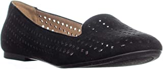 Style & Co. SC35 Alysonn3 Perforated Loafer Flats, Black
