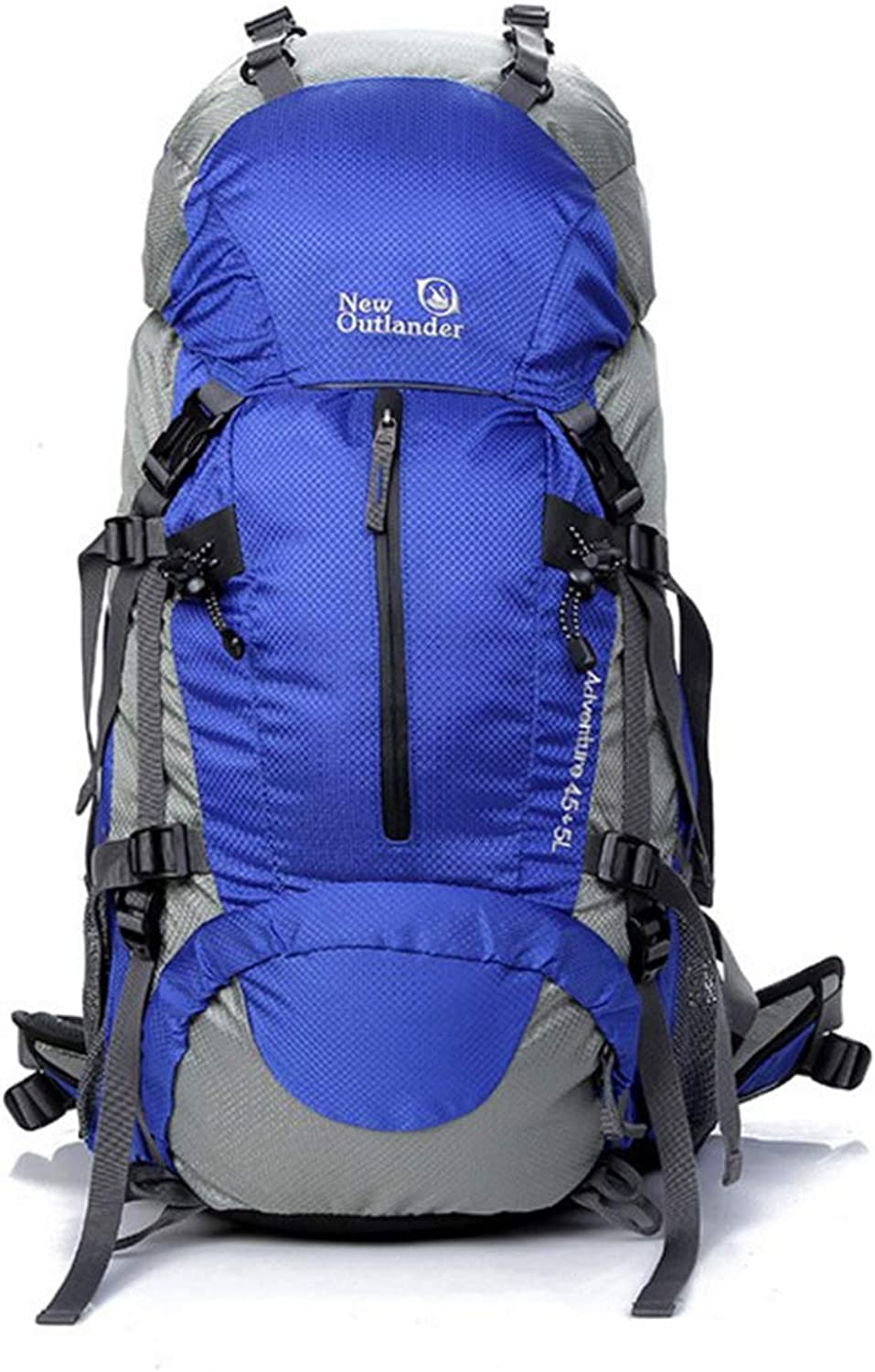 Hyue Outside Sports Large Capacity Raincoat Mountaineering Bag (color   bluee)