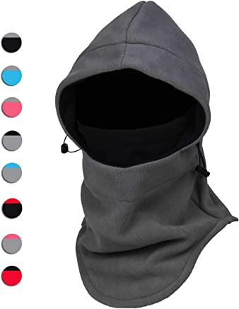 Warm Fleece Balaclava Ski Bike Full Face Mask Neck Warmer Winter Sports Cap