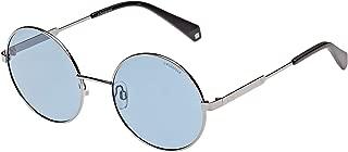 Polaroid Round Unisex Sunglasses Blue PLD 4052/S PJP 55C3 55 20 145mm