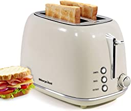 2 Slice Toaster, Keenstone Toaster with 6 Browning Settings, 1.5 In Extra Wide Slots, Stainless Steel Housing, Bagel/Defro...