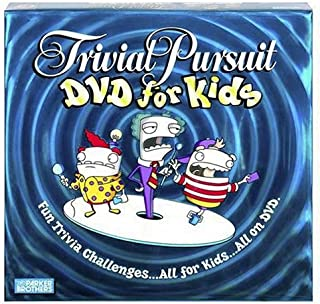 Hasbro Gaming Trivial Pursuit DVD for Kids