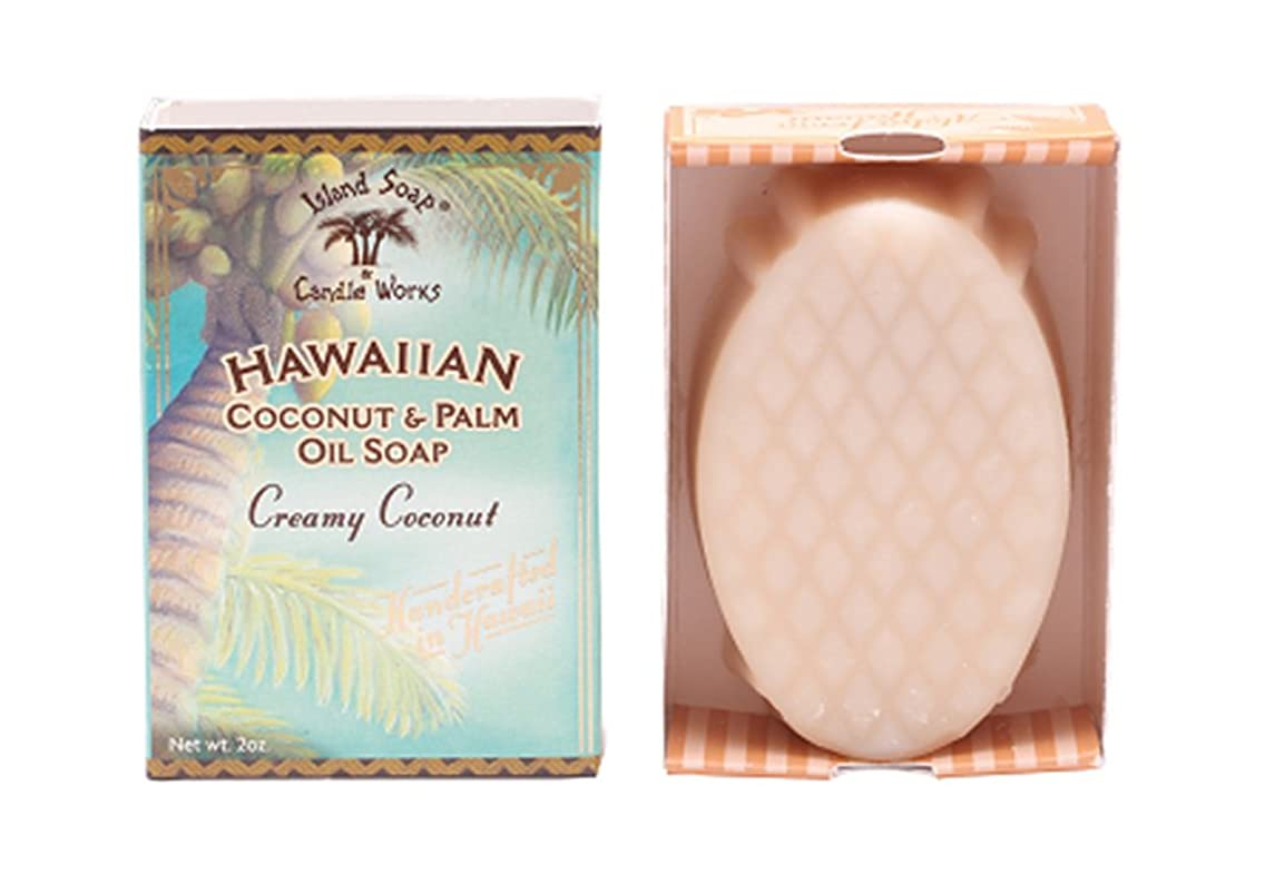 ビットびん絶滅したアイランドソープ ココナッツソープ ココナッツ 50g